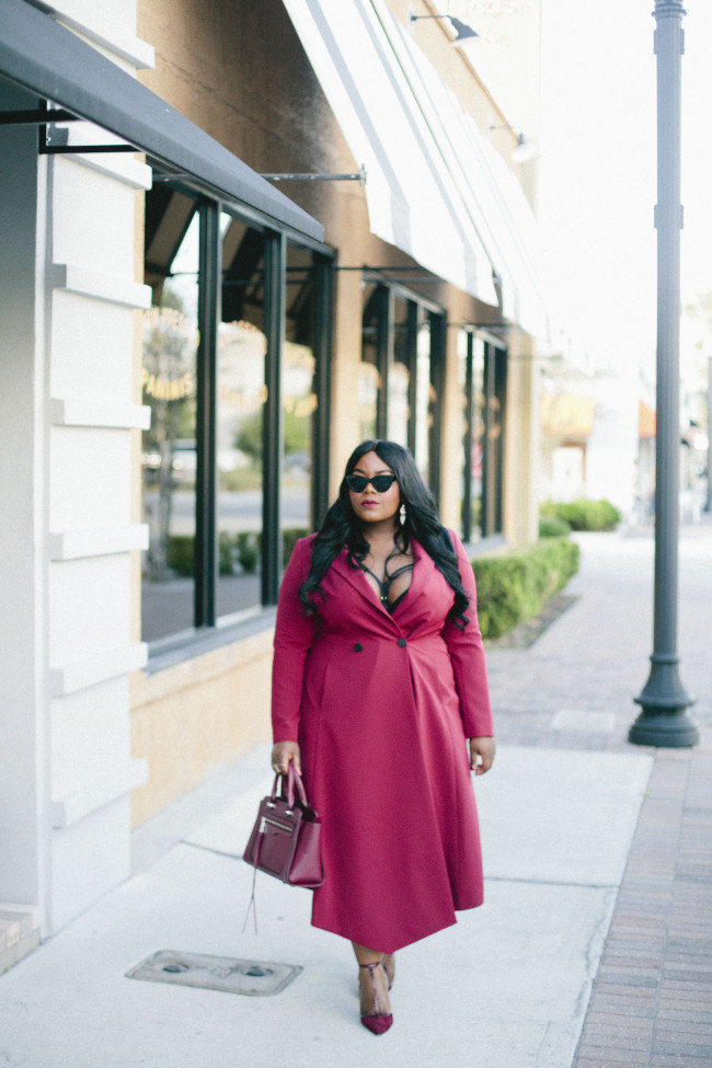 Musings of a Curvy Lady, Plus Size Fashion, Fashion Blogger, Bond Girl, Navabi, Rebecca Minkoff, Fall Fashion, Women's Fashion, Oxblood, Style Hunter, #YouGotItRight, #MCBeautyRoadShow, #RealOutfitGram