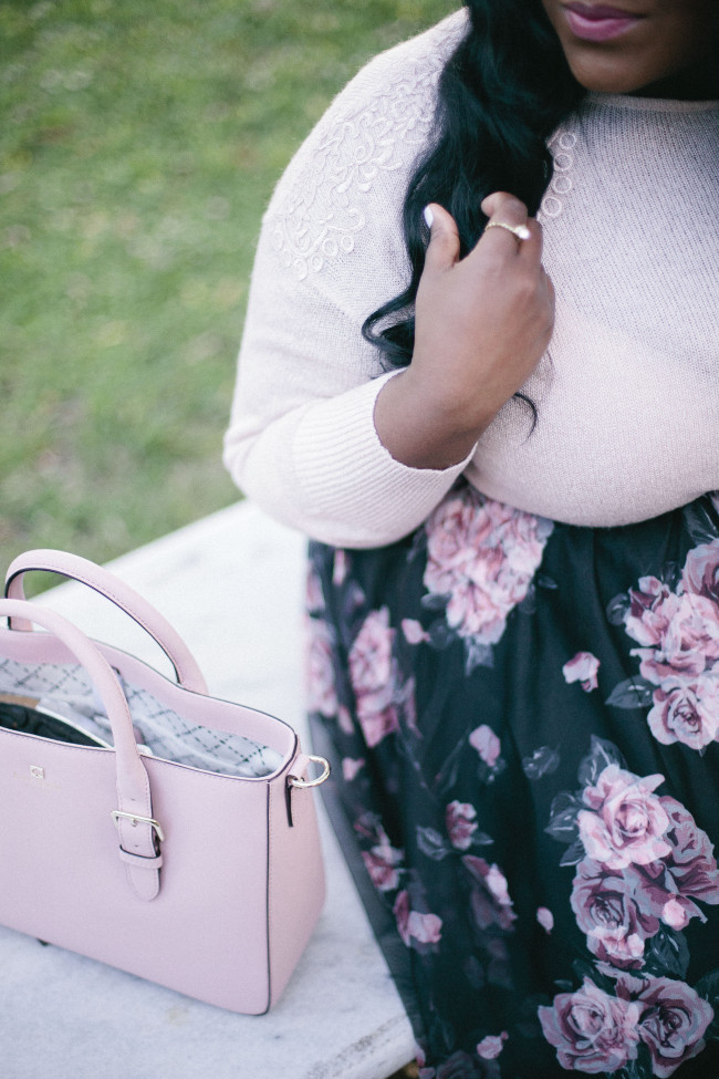 Musings of a Curvy Lady, Plus Size Fashion, Fashion Blogger, Women's Fashion, Torrid, Torrid Fashion, #IAMTORRID, Tulle Skirt, Blush Colored Outfit, Fall Fashion, Elle, Kohl's Kate Spade New York, #YouGotItRight, Inspired by Instyle, Style Hunter, StyleWatch Mag, #MCBeautyRoadShow