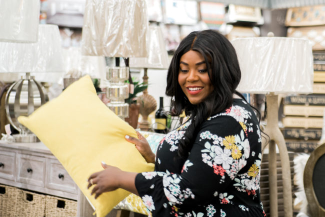 Musings of a Curvy Lady, Plus Size Fashion, Fashion Blogger, Lifestyle Blogger, AndThat!, Shopping, Jacksonville, Florida, ChristmasTree Shoppes, Bed Bath and Beyond, Home Decor