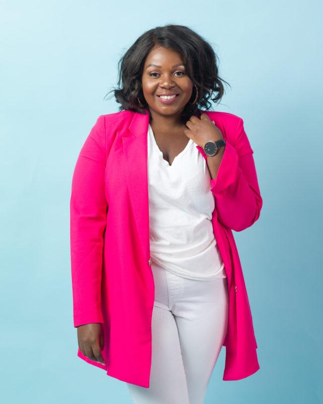 Musings of a Curvy Lady, Plus Size Fashion, WOC Content Creators, Women of Color Creatives, Black Bloggers, CurvEnvy, Sandee Joseph