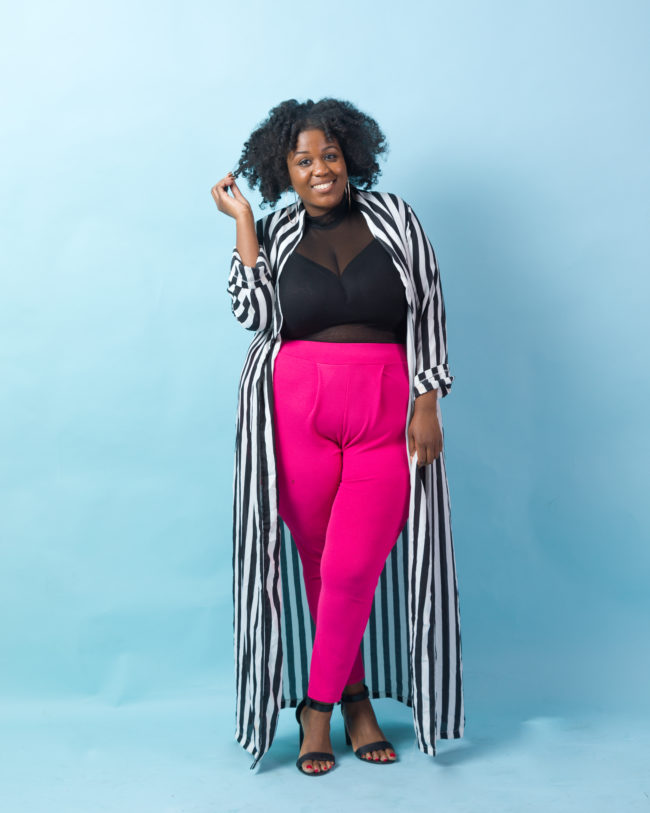 Musings of a Curvy Lady, Plus Size Fashion, WOC Content Creators, Women of Color, Peggy, On the Q Train, Creatives, Black Bloggers