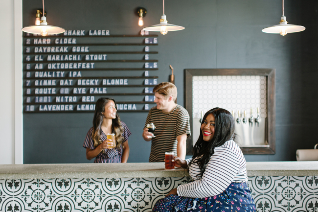 Town Beer Co., Local Beer, Beer Shop, Jacksonville, Murray Hill Florida, Oktoberfest, Brewery, Shop Local, Musings of a Curvy Lady, Plus Size Fashion, Travel Blog, Travel Blogger