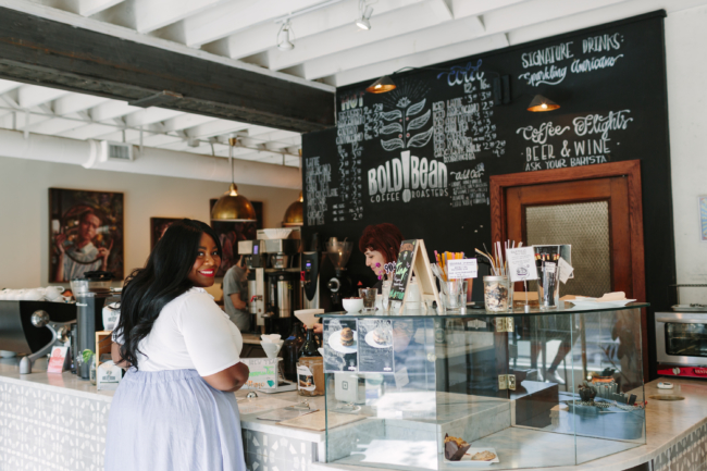 Bold Bean Coffee Roasters, Coffee Shop, Local Coffee Shop, San Marco, Jacksonville, Florida, Hometown Tourist, Travel Blogger