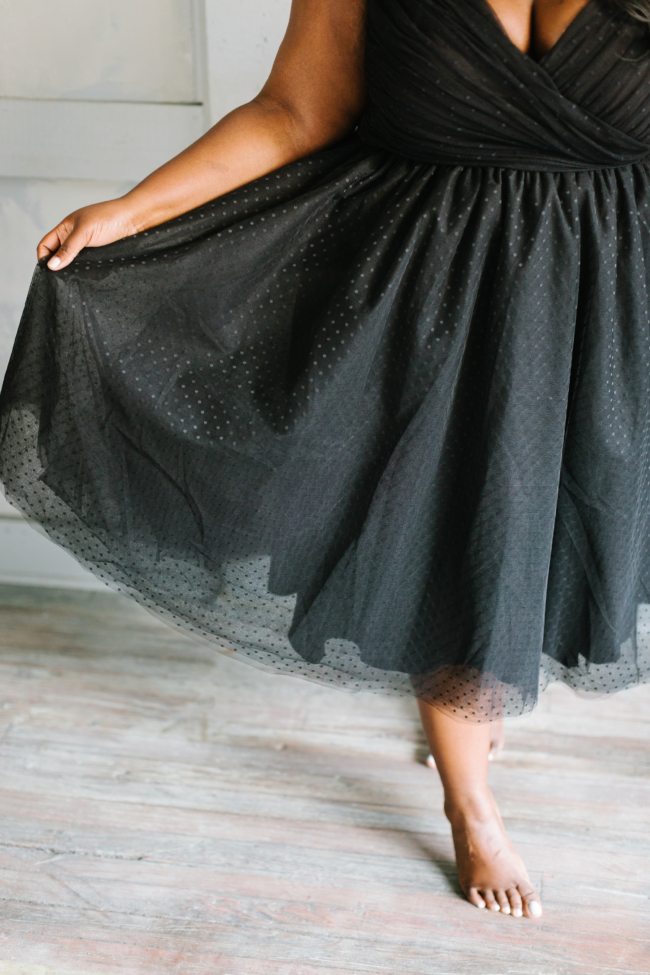 Musings of a Curvy Lady, Plus Size Fashion, Jason Wu, Eloquii, Occasion Dress, Holiday Collection, Holiday Party, Tulle Dress, Plus Size, Jason Wu X Eloquii