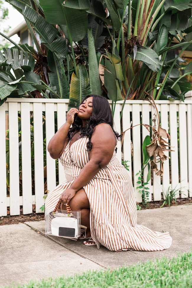 Musings of a Curvy Lady, Plus Size Fashion, ASOS Curve, ASOS, Plus Size Maxi Dress, Plus Size Boho Style, Lack of Color, Aqua Shoes, Bloomingdale's, Summer Fashion