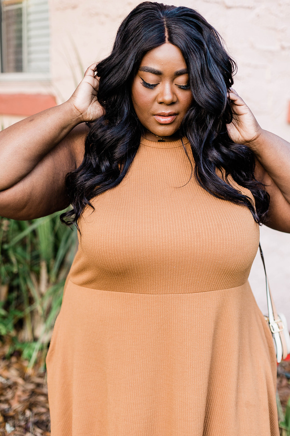Nordstrom Half-Yearly Sale, BP. Rib Knit Racerback Dress, Plus Size Fashion, Thamarr Musings of a Curvy Lady