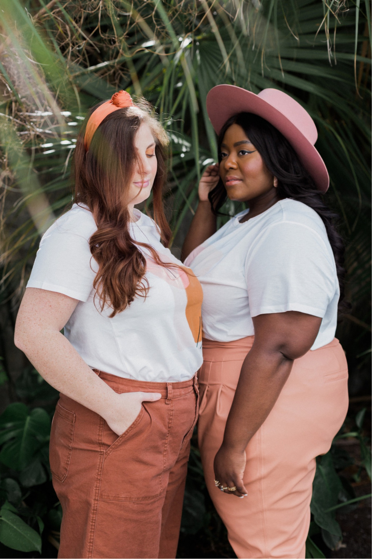 Black and White Models, Friends Modeling together