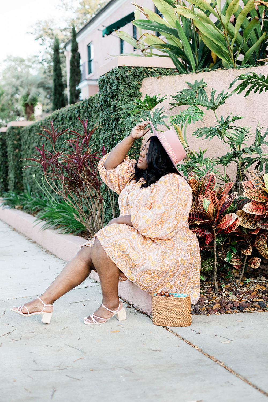 Agathe Lace Dress Anthropologie, Plus Size Model, Plus Size Boho, Lack of Color Sierra Rose