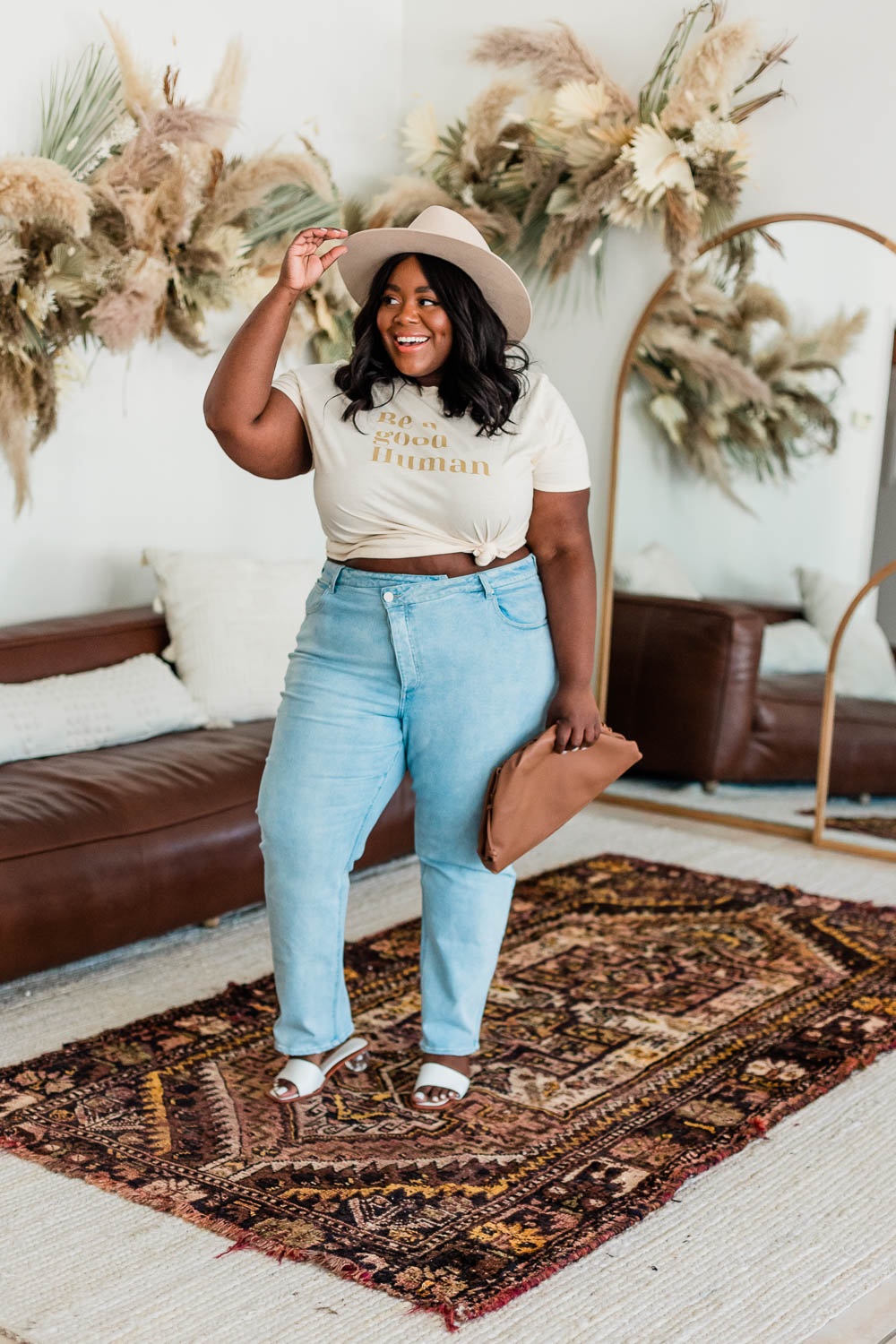 Dried Flower Installation, Urban Outfitters Tabitha Arc Mirror, Forever 21 Plus Size Knit Bodysuit Tan, Forever 21 Plus Size Straight Leg Jean, Lack of Color Benson Tri-Beige, Dumplin Bag, Organic Cotton Graphic Tee Forever 21 Plus Size Be a Good Human